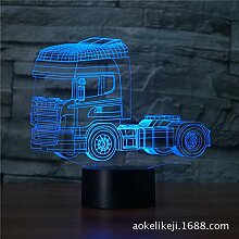 Powzz ornament 3D Led Nachtlicht Dekorative