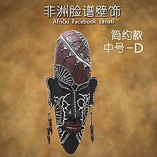 Powzz ornament Dekoration Innen Maske Afrika