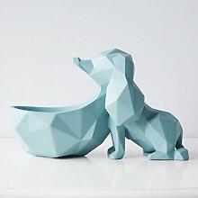 Powzz ornament Hund Desktop Candy Tray