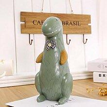 Powzz ornament Skulpturen Statuen Dekoartikel Harz