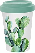PPD Cactus Bamboo Coffee-To-Go Becher,
