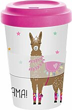 PPD Drama Llama Bamboo Coffee-To-Go Becher,