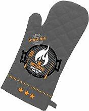 PPD Firestarter Grillhandschuh, Grill Handschuh, Baumwolle, Polyester, Anthrazit / Bunt, 1541988