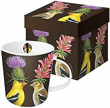 PPD Goldfinch Couple Trend Kaffeebecher,
