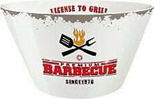 PPD License To Grill Schale, Schüssel, Magnesiumporzellan, Weiß / Bunt, 250 ml, 602885