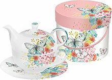 PPD Louise Butterfly Tea-for-One-Set, Tee Kanne,