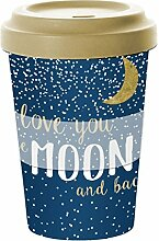 PPD Moon Love Bamboo Coffee-To-Go Becher,