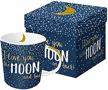PPD Moon Love Trend Real Gold Porzellantasse,