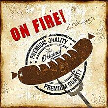 PPD On Fire! Servietten, 20 Stück,