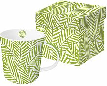 PPD Palm Leaves Greenery Trend Kaffeebecher,