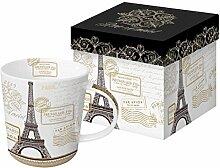 PPD Porzellan Becher Tasse 'Paris