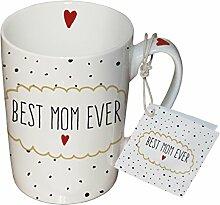 PPD Porzellan Henkelbecher Tasse 0,25L (Best Mom)