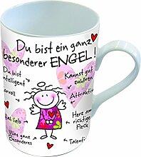 PPD Porzellan Henkelbecher Tasse Du bist ein ganz