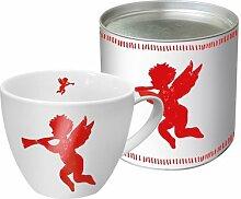 PPD Porzellan Tasse Big Mug Angel Fashion (Rot)