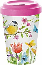 PPD Spring Bird Coffee-To-Go Becher, Kaffeebecher,