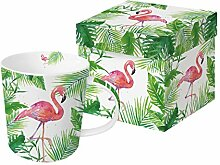 PPD Tropical Flamingo Trend Kaffeebecher,
