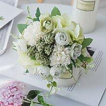 PPLAX Rose Bouquet Künstliche Blume Hochzeit