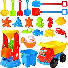 Pppby 1 Set Kinder Strand Sand Sandspielzeug