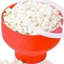 PPuujia Rührschüssel Popcorn Mikrowelle Silikon