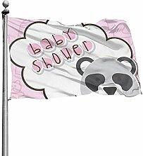 PQU Awesome Garden Flag,Baby-Dusche-Garten