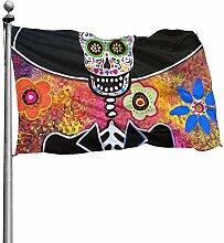 PQU Awesome Home Garden Flags,Mariachi Serenata