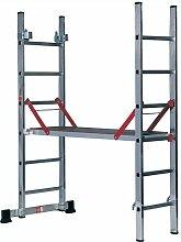 Präzise gefertigte Youngman Pro Deck, Aluminium, & Plattform Verlängerung, Stufen, Stairway, Plattform [1]-w/3yr rescu3 ® Garantie