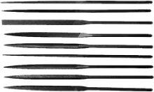 Präzisionsnadelfeilen 160 mm Hieb 2 Messer