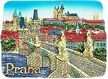 Prag Tschechische 3D Kühlschrank Magnet Reise