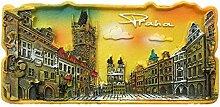 Prag Tschechische Kühlschrankmagnet 3D Harz