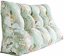 Praktische Büro Bett Sofa Taille Kissen Art- und Weisedoppelt-Bett-Dreieck-Kissen / Taillen-Kissen-Sofa-Rückseiten-weiches Beutel-Bett Groß schützen Sie das Taillen-Kissen Dddlt- pillow and cushions ( Farbe : #6 , größe : 60*120*30cm )
