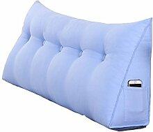 Praktische Büro Bett Sofa Taille Kissen Bedside Dreieck Kissen / Kissen Großes Kissen / Taille Kissen Sofa zurück Soft Bag Bett Taille Kissen Dddlt- pillow and cushions ( Farbe : #1 , größe : 100*50*20cm )