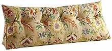 Praktische Büro Bett Sofa Taille Kissen Bedside Rückenlehne Dreieck Bett Kissen Sofa große lange Kissen / Kissen lumbalen Kissen lesen Kissen Golden Dddlt- pillow and cushions ( größe : 150*50*22cm )