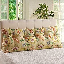 Praktische Büro Bett Sofa Taille Kissen Bedside Rückenlehne Dreieck Bett Kissen Sofa große lange Kissen / Kissen Lendenkissen Lesen Kissen Dddlt- pillow and cushions ( Farbe : #5 , größe : 120*50*22cm )