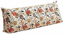 Praktische Büro Bett Sofa Taille Kissen Bedside Rückenlehne Dreieck Bett Kissen Sofa große lange Kissen / Kissen Lendenkissen Lesen Kissen Dddlt- pillow and cushions ( Farbe : #2 , größe : 100*50*22cm )
