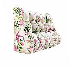 Praktische Büro Bett Sofa Taille Kissen Doppelseitiges Dreieck Kissen / Taillen-Kissen-Sofa-Rückseiten-weiches Beutel-Bett Groß schützen Sie das Taillen-Kissen Dddlt- pillow and cushions ( Farbe : #1 , größe : 60*150*30cm )