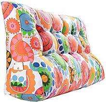 Praktische Büro Bett Sofa Taille Kissen Doppelseitiges Dreieck Kissen / Taillen-Kissen-Sofa-Rückseiten-weiches Beutel-Bett Groß schützen Sie das Taillen-Kissen Read the Cushions Colorful Dddlt- pillow and cushions ( größe : 60*100*30cm )