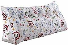 Praktische Büro Bett Sofa Taille Kissen Dreieck Nacht Große Kissen Abnehmbare und Waschbar Einzelne / Doppel Weiß Kissen Bett Rückenlehne Sofa Weiche Tasche Lesen Sie die Kissen Dddlt- pillow and cushions ( größe : 150*50*20cm )