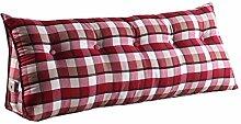 Praktische Büro Bett Sofa Taille Kissen Mode Nacht Rückenlehne Dreieck Bett Kissen Sofa große lange Kissen / Kissen Lendenkissen Lesen Kissen Dddlt- pillow and cushions ( Farbe : #5 , größe : 150*50*22cm )