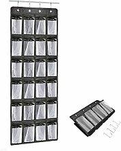 Praktische Ordnungssysteme an der Tür mit 26 Taschen/Türregal,Goldbeing Hängeorganizer, Hängeaufbewahrung, Schuhschränke, Multifunktionale Aufbewahrungstasche