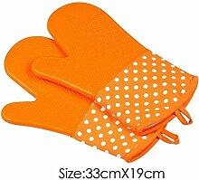 Praktische Silikonisolierung Handschuhe Griffige