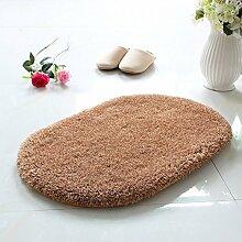 Pratunam pad/Fußmatten/Anti-slip mat/Halle-Badematte/Oval-Matte-A 45x130cm(18x51inch)
