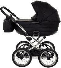 Precioso Premium Knorr-Baby Kinderwagen Schwarz