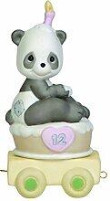 Precious Moments Geburtstag Zug Figur, Panda