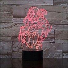 Predator 3D Lampe LED Wechselnde Nachtlichter