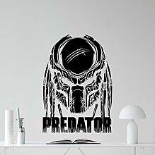 Predator Wandtattoo Superheld Film Vinyl Aufkleber