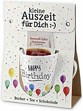 Preis am Stiel Auszeit Happy Birthday  