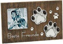 Preis am Stiel Bilderrahmen Paw Print | Hund | Dog
