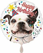 Preis am Stiel Folienballon Happy Birthday