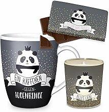 Preis am Stiel Geschenkset Alles Liebe Panda Tasse