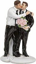Preis am Stiel Hochzeitspaar schwul - Figuren